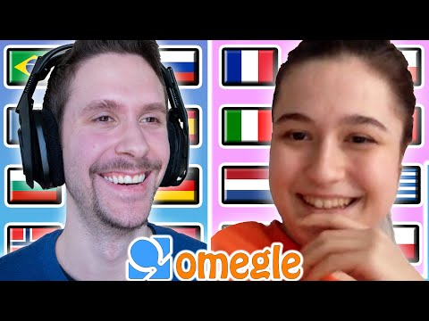 Speaking 10 Different Languages on Omegle #4