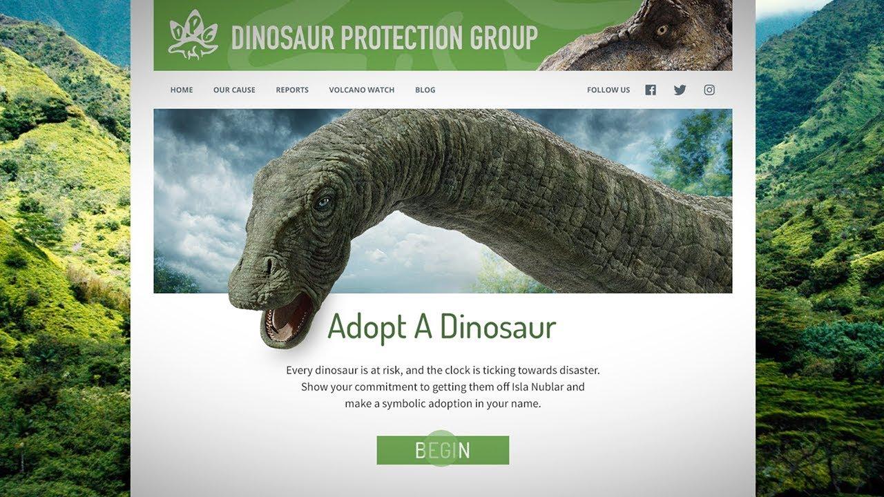 Jurassic World: Fallen Kingdom - Adopt A Dino [HD]