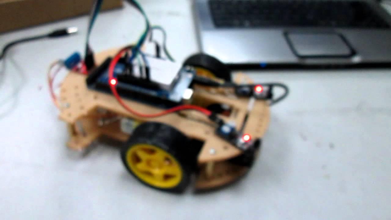 Robot arduino evita obstaculos basico pt youtube