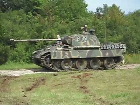 Panther Vs. Tiger I - Which was better?(Videos)