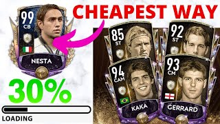 Fifa Mobile 20 l Road to Prime Icon Nesta l The Cheapest way - Episode 1  Claiming Icons!