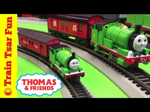 Tomix N Scale Percy and Sodor Mail Train Thomas the Tank Engine & Friends