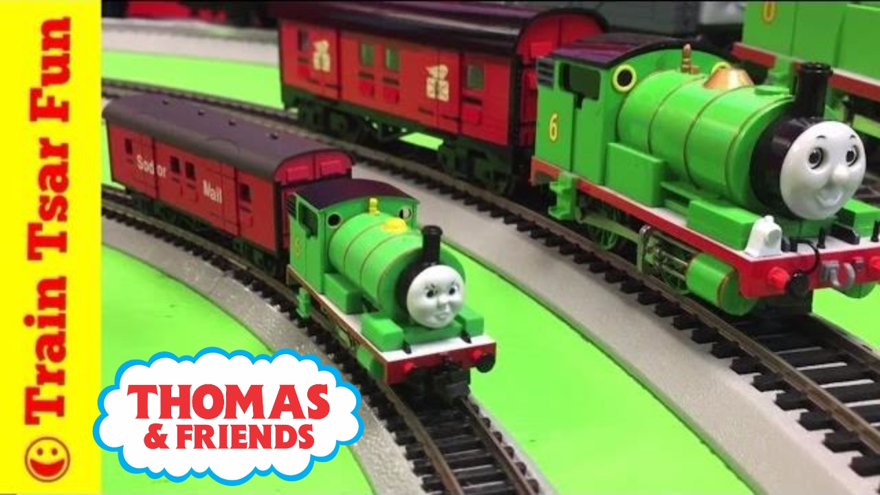 Tomix N Scale Percy And Sodor Mail Train Thomas The Tank Engine Friends