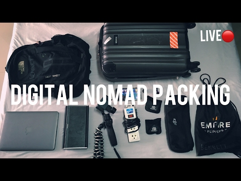 LIVE 🔴 Digital Nomad Minimalist Packing & Living Tips | My Minimal by Accident Story, Chiang Mai