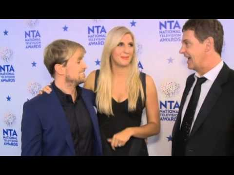 Kian Egan - interview with campmates ( I´m A Celebrity ) on NTAs 2014