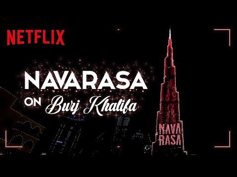 Navarasa on Burj Khalifa | Now Streaming | Mani Ratnam, Jayendra | Netflix India