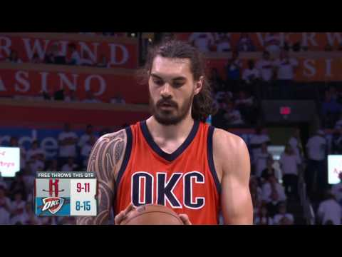 Houston Rockets vs Oklahoma City Thunder- April 23, 2017