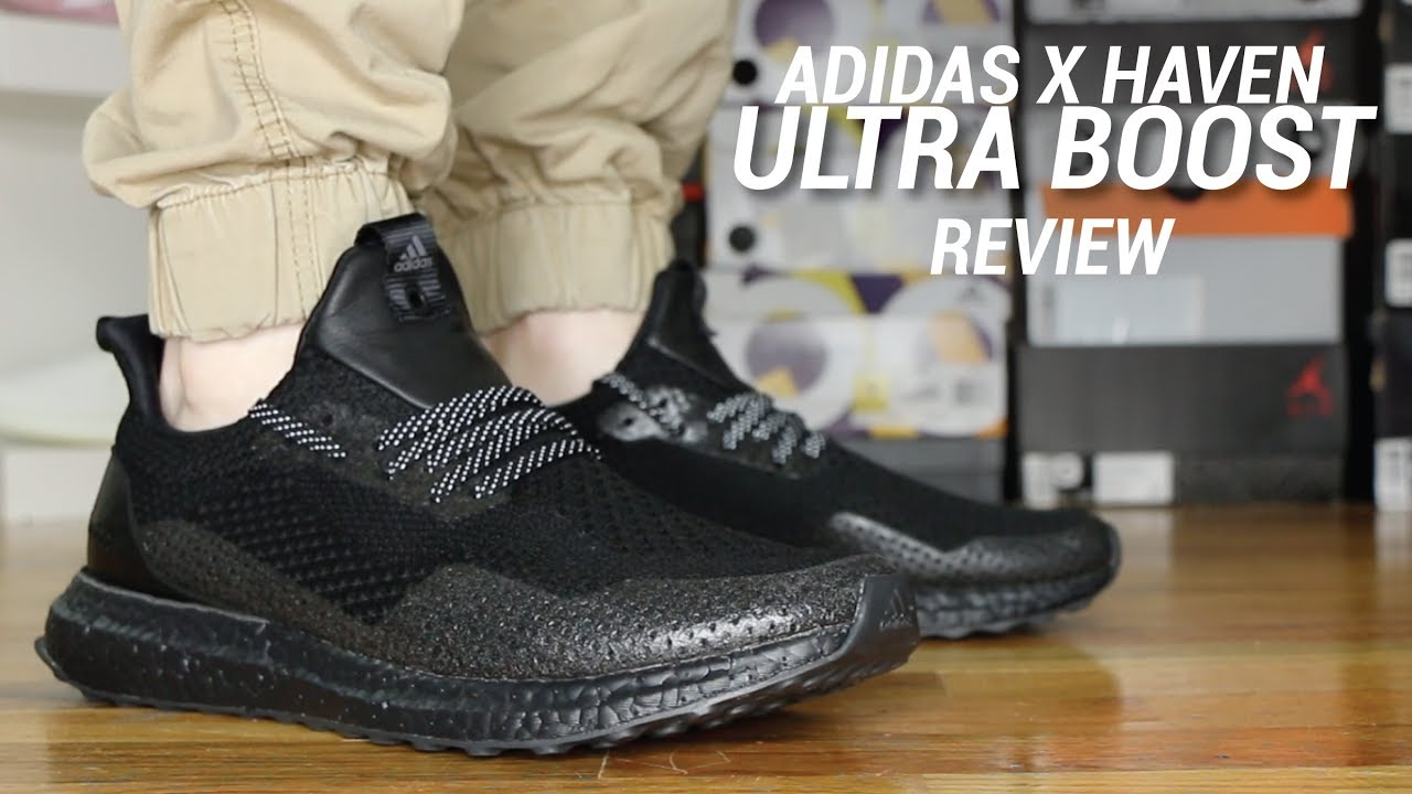170d41aab ADIDAS HAVEN ULTRA BOOST REVIEW - YouTube