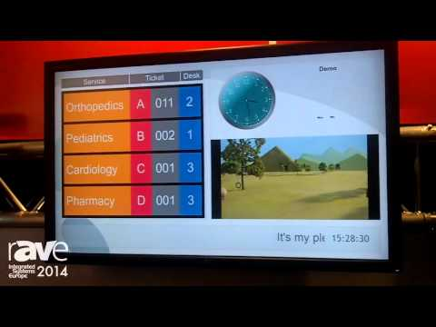 ISE 2014: Q-Better Demos Drag and Drop Digital Signage Software, Audience Facial Recognition