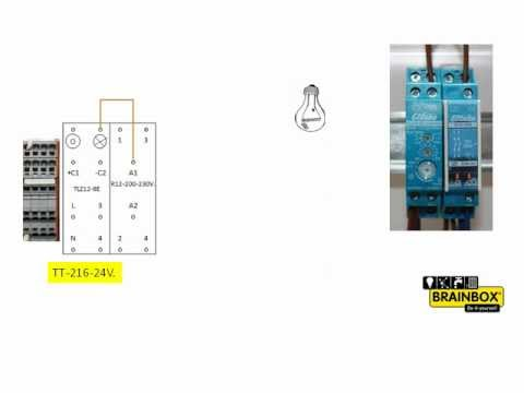 tutorial enocean eltako aufbau im verteiler deutsch doovi. Black Bedroom Furniture Sets. Home Design Ideas