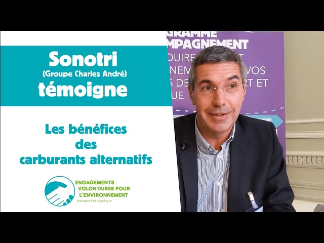 Sonotri témoigne sur les bénéfices des carburants alternatifs