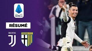 VIDEO: Résumé : La Juventus s'en remet au génie de Cristiano Ronaldo contre Parme