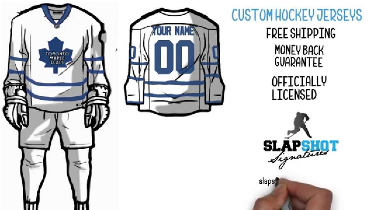 Custom Hockey Jersey - A Personalized Hockey Jersey in 3 Simple Steps 780d53bbe64