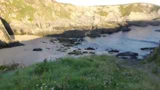 Valdoviño (A Coruña): Playa de los curas al detalle.