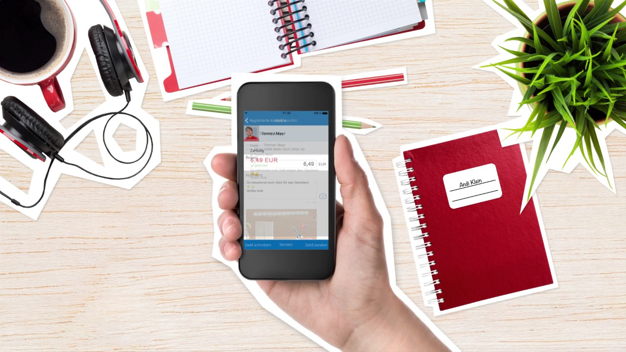 VR-Banking App: So funktioniert\'s - Geld an Freunde und Kontakte ...