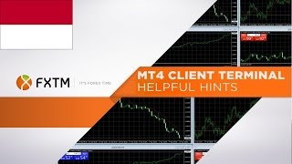 FXTM - Learn how to trade forex using MT4 [Indonesian]