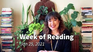 Week of Reading- Jan 25, 2021
