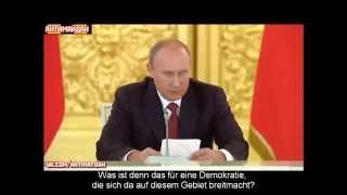 Putin: Massive Verstöße gegen Menschenrechte! Was ist das für eine Demokratie in der Ukraine?