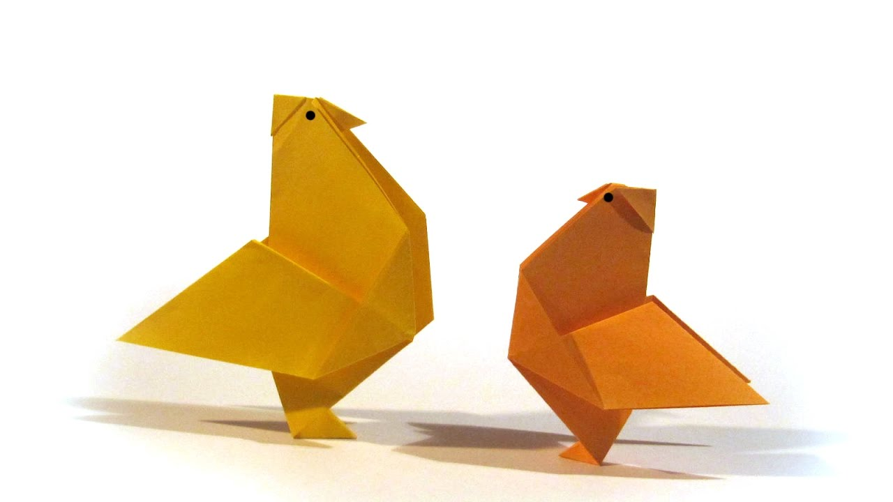 Easy Easter Origami Hen