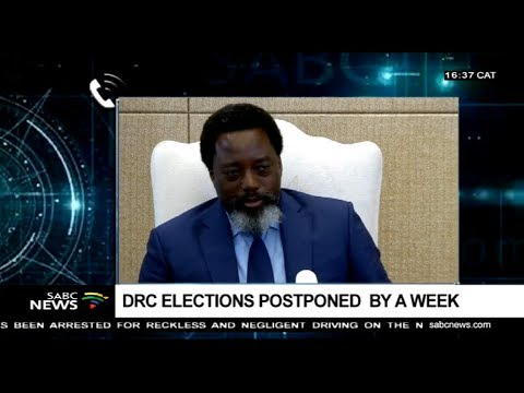 Postponement of DRC election was expected: Jean Bwasa