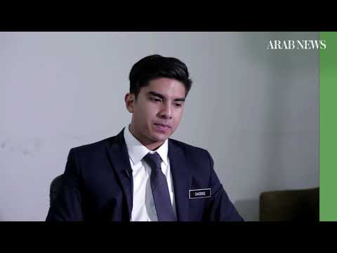 Arab News speaks to Malaysia's youngest minister Syed Saddiq