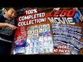 THE BIGGEST LEGO MOVIE 2 TRADING CARD OPENING! ENTIRE COMPLETED SET OF CARDS! OVER 40 BOOSTER PACKS!