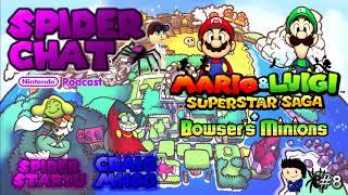 Spider Chat - Mario and Luigi: Superstar Saga + Bowser's Minions (Ft. CraigMhgg) (Episode 8)