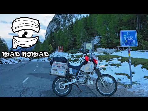 Slovenia motorcycle trip - mad nomad