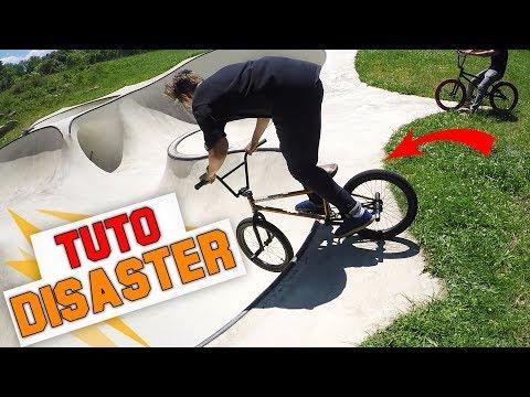 COMMENT FAIRE UN DISASTER EN BMX ? - TUTO EXPRESS DEBUTANT - HOW TO DISASTER ON BMX ?