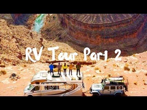 WALK-AROUND OF OUR WINNEBAGO VIEW 24J/MERCEDES RV! - RV Tour Part 2 // EFRT EP 55