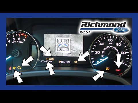 Ford F-150: What All Those Dash Lights Really Mean