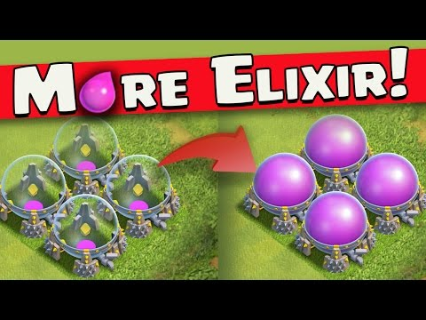 "Clash of Clans: ""Elixir Saving MODE!"" How To Farm MORE & Keep It"