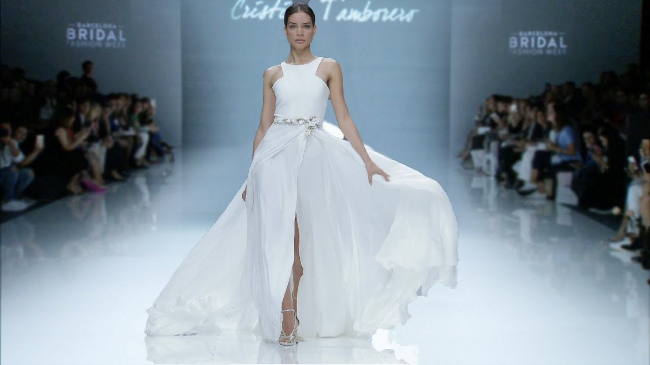 Cristina Tamborero | Bridal 2019 | Barcelona Bridal Fashion Week ...