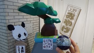 Ueno Weird Capsule Toy Machine Gashapon Panda Gacha
