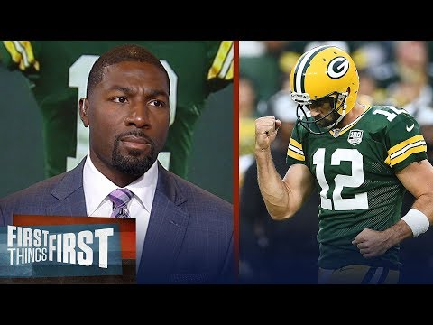 Greg Jennings was 'beyond impressed' with Rodgers' comeback win vs Bears | NFL | FIRST THINGS FIRST