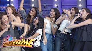 It's Showtime Cash-Ya: Team Nadine's cheer in Cash-Ya