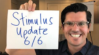 Second Stimulus Check Update 6/6