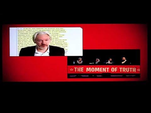 The moment of truth, Kim Dotcom, Julian Assange, Edward Snowden