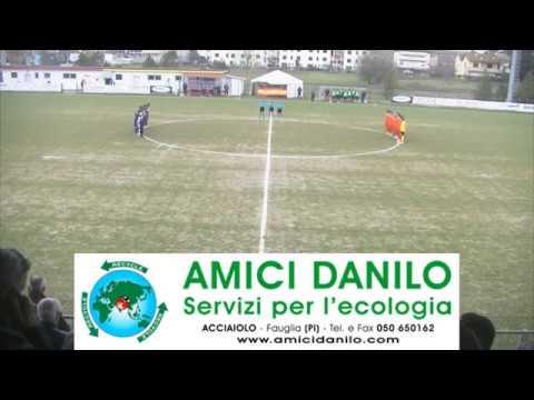 Campionato Eccellenza 2017/2018 26a giornata: San Miniato Basso - Atletico Cenaia (sintesi)