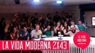 La Vida Moderna 2x43...es enseñar a tu abuelo a usar Periscope para no ir a verlo a la residencia