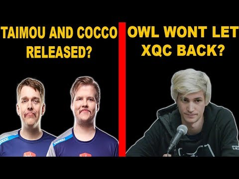 Taimou And Cocco Released by Dallas Fuel!? OWL Not Letting XQC Come Back? SF Shock sign 3 players!