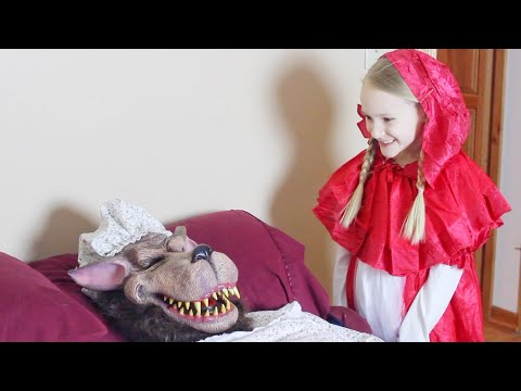 Lyla's Little Red Riding Hood Fairy Tale Mix Up!