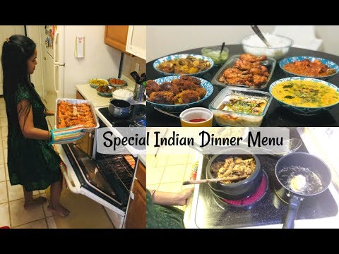 Indian Special Dinner Routine/Full Menu For Guest/Starter To Dessert/Veg & Nonveg