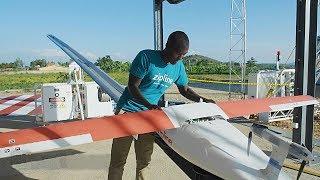 Как в Руанде дронами доставляют медикаменты