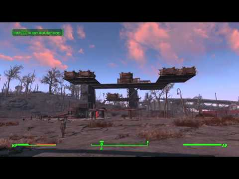 Fallout 4 Floating base settlement editor PS4