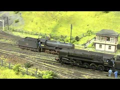 N gauge layout Blea Moor