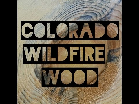 Colorado Wildfire Wood and Cold Rolled Steel