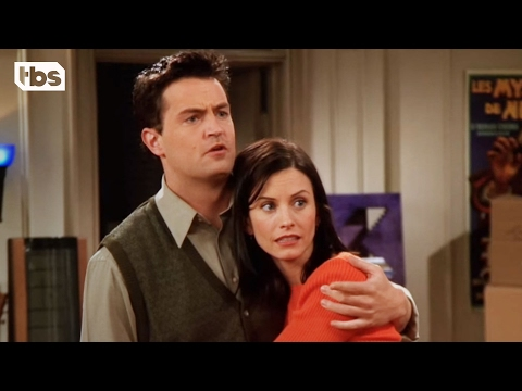 Chandler Loves Monica | Friends | TBS