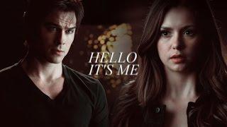 Damon & Elena | Hello, it
