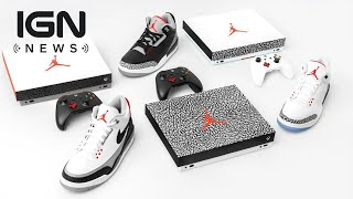 Check Out These Custom Air Jordan Xbox Ones - IGN News